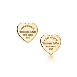 Heart Tag earrings